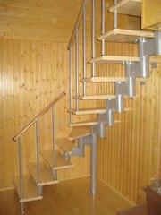 Межэтажные модульные лестницы в Балхаше