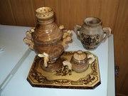 Сувениры ручной работы из дерева